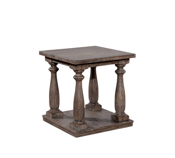 Furniture of America Tammie Gray End Table FOA-CM4421GY-E