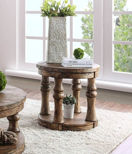 Furniture of America Mika End Tables FOA-CM4424-ET-VAR