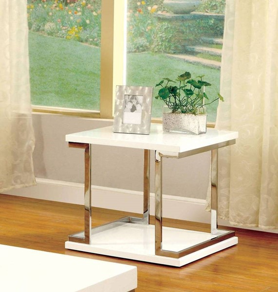 Furniture of America Meda End Table FOA-CM4486E