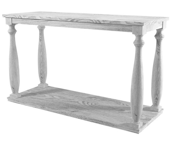 Furniture of America Arlington Antique White Sofa Table FOA-CM4520S