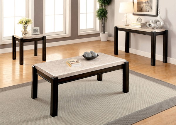 Furniture of America Gladstone III 3pc Coffee Table Set FOA-CM4823-OCT-S2