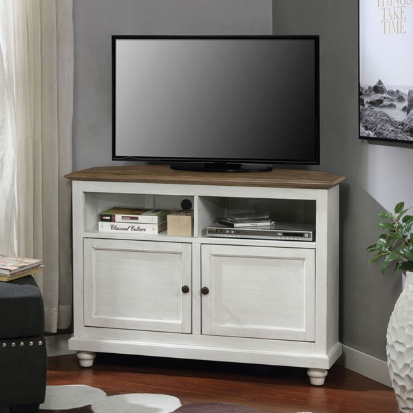 Furniture Of America Palu White Oak TV Stand FOA-CM5677A-TV