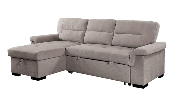 Furniture of America Anabel Light Gray Sectional FOA-CM6023-SECT