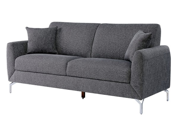 Furniture Of America Lauritz Gray Sofa FOA-CM6088GY-SF