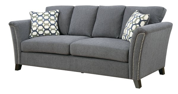 Furniture of America Campbell Gray Sofa FOA-CM6095GY-SF