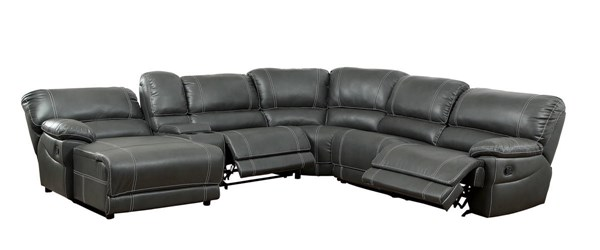 Furniture of America Estrella Gray Sectional FOA-CM6131GY-SECTIONAL