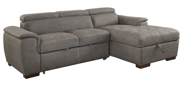 Furniture of America Patty Ash Brown Sectional FOA-CM6514BR-SECT