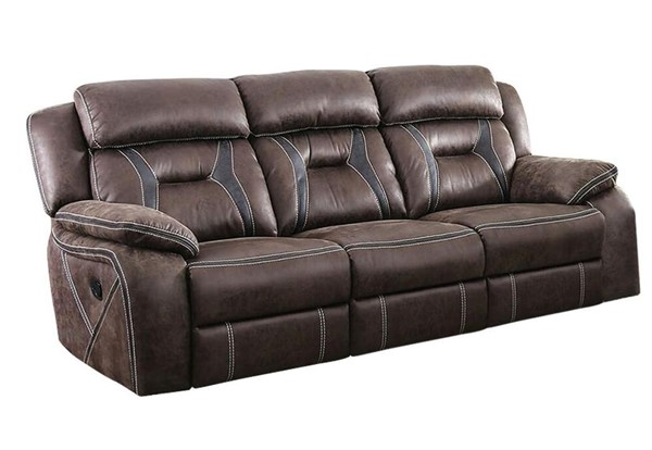 Furniture of America Flint Brown Sofa FOA-CM6565-SF