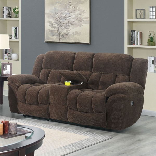 Furniture Of America Irene Brown Love Seat FOA-CM6590BR-LV