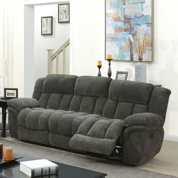 Furniture Of America Irene Gray Sofa FOA-CM6590GY-SF