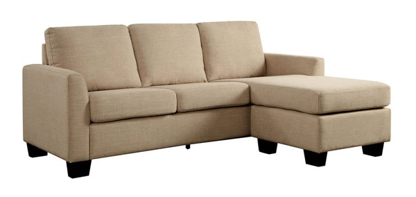 Furniture of America Erin Beige Sectional FOA-CM6593BG