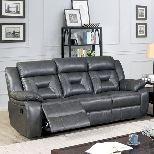 Furniture Of America Marnie Gray Sofa FOA-CM6641GY-SF