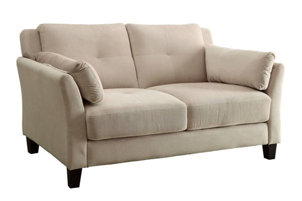Furniture of America Ysabel Beige Loveseat FOA-CM6716BG-LV-PK