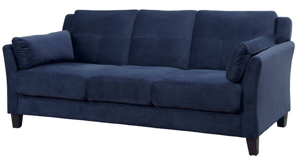 Furniture of America Ysabel Navy Sofa FOA-CM6716NV-SF-PK
