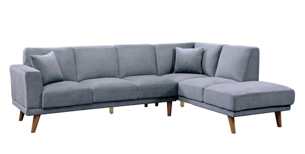 Furniture of America Hagen Sectional FOA-CM6799GY-SECTIONAL