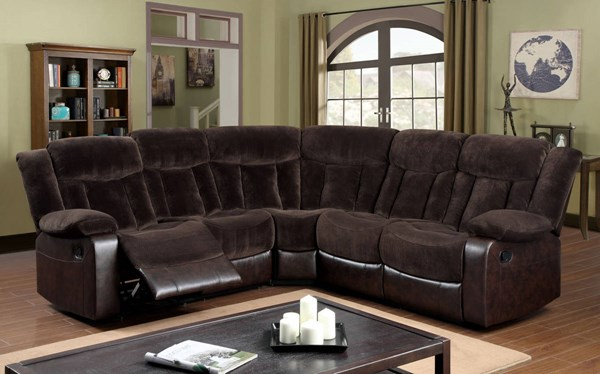 Furniture of America Hampshire Sectional FOA-CM6809-SECTIONAL