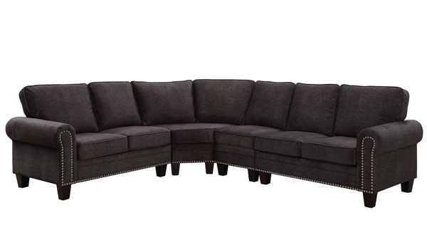 Furniture of America Elwick Sectional FOA-CM6885-SECT