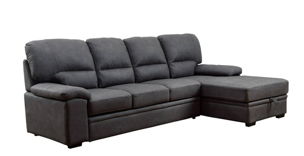 Furniture of America Alcester Sectionals with Sleeper FOA-CM6908-SEC-VAR