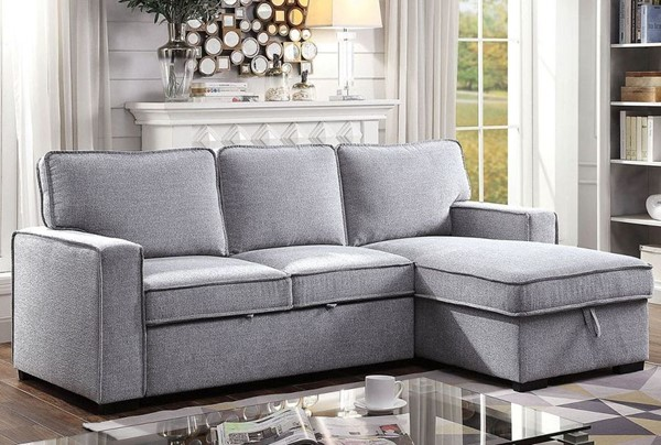 Furniture Of America Ines Gray Sectional FOA-CM6964-SECT