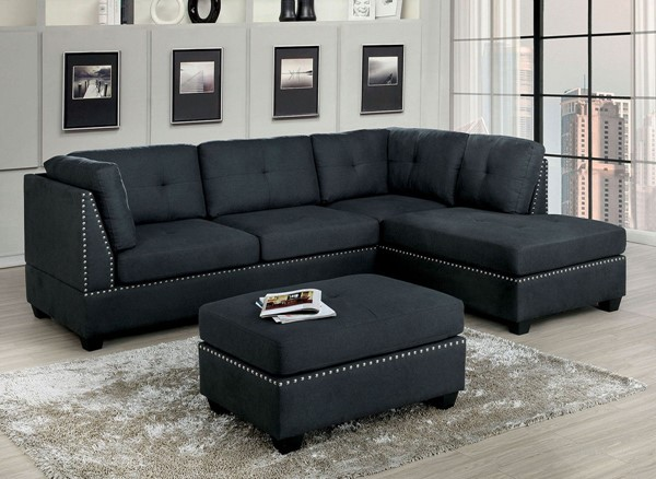 Furniture Of America Lita Gray Sectional FOA-CM6966-SECT