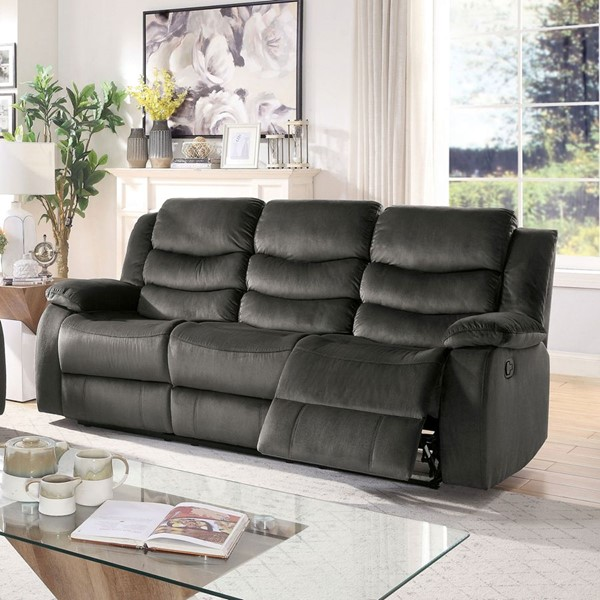 Furniture Of America Tage Gray Sofa FOA-CM6969-SF