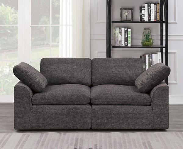 Furniture Of America Joel Gray Love Seat FOA-CM6974GY-LV