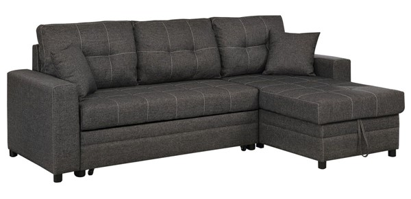 Furniture of America Vide Gray Sectional FOA-CM6975-SECT