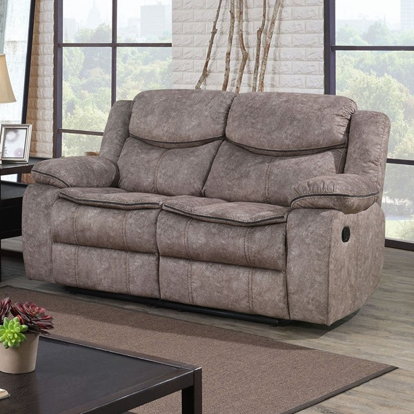 Furniture Of America Gatria Gray Love Seat FOA-CM6981GY-LV
