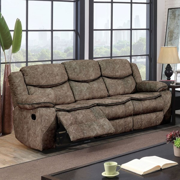 Furniture Of America Gatria Gray Sofa FOA-CM6981GY-SF