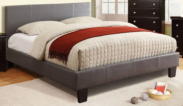 Furniture of America Winn Park Gray Queen Bed FOA-CM7008GY-Q-BED