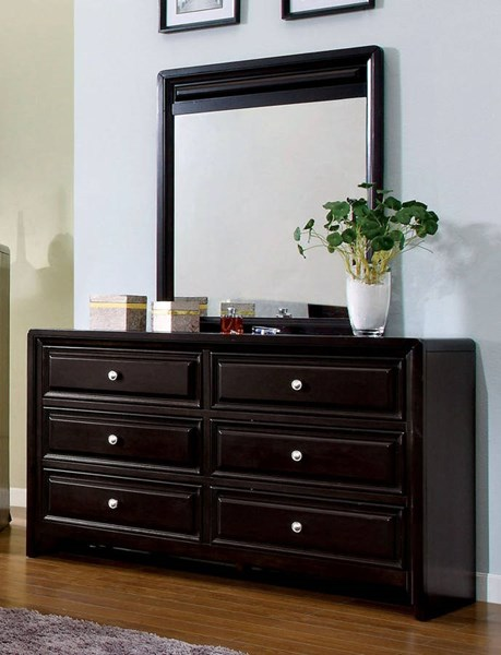 Furniture of America Yorkville Dresser and Mirror FOA-CM7058-DRMR