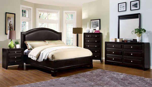 Furniture of America Winsor Master Bedroom Set FOA-CM7058-BR