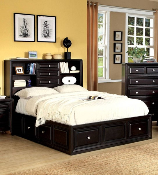 Furniture of America Yorkville Queen Bed FOA-CM7059Q-BED