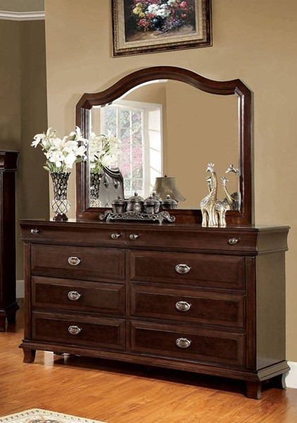 Furniture of America Arden Dresser and Mirror FOA-CM7065-DRMR