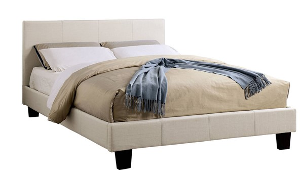 Furniture of America Sims Beige Queen Bed FOA-CM7078BG-Q-BED