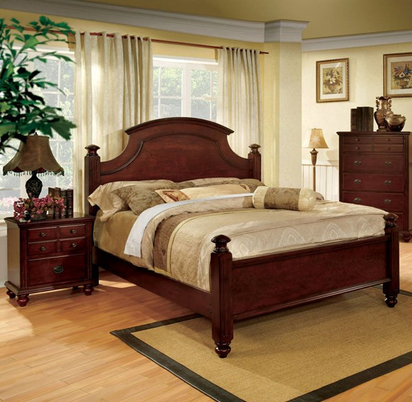 Furniture of America Gabrielle II 2pc Bedroom Set with Queen Bed FOA-CM7083-BR-S1