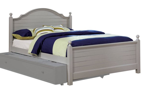 Furniture of America Diane Gray Full Bed FOA-CM7158GY-F-BED