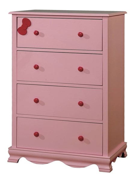 Furniture Of America Dani Pink Chest FOA-CM7159PK-C
