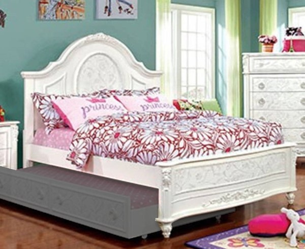 Furniture of America Henrieta Twin Panel Bed FOA-CM7193T-BED