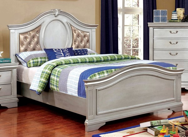 Furniture Of America Claudia Tufted Beds FOA-CM7199L-BED-VAR