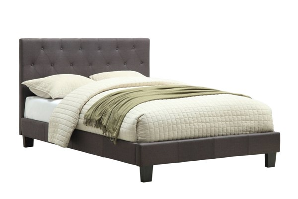 Furniture of America Leeroy Gray Full Bed FOA-CM7200LB-F-BED