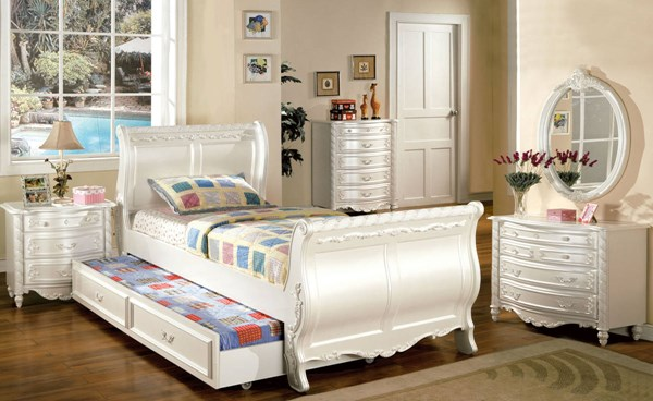 Furniture of America Alexandra Trundle Beds FOA-CM7226-TR-BED-VAR