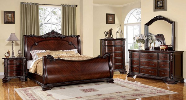Furniture of America Bellefonte Cal King Bed FOA-CM7277CK-BED