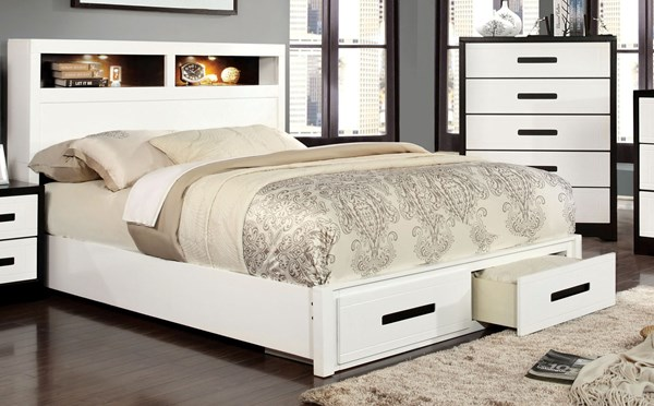 Furniture of America Rutger Beds FOA-CM7298-BED-VAR