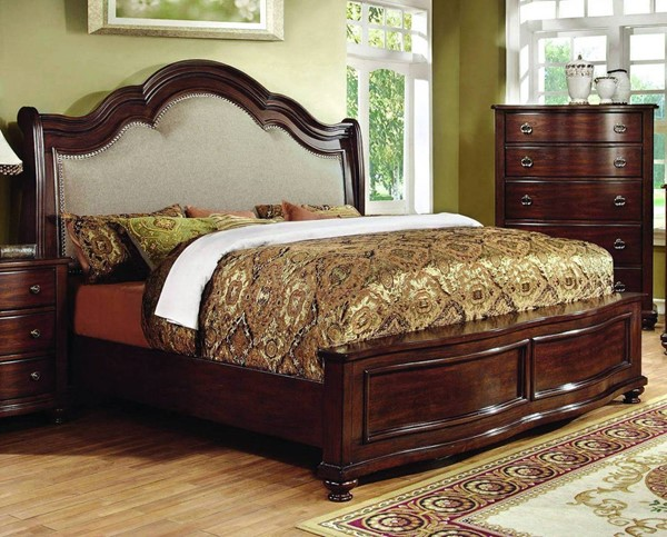 Furniture of America Bellavista Queen Panel Bed FOA-CM7350Q-BED