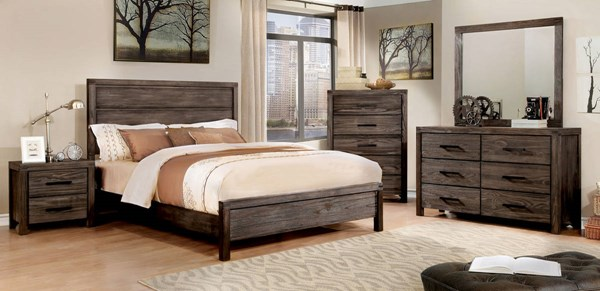 Furniture of America Rexburg Master Bedroom Set FOA-CM7382-BR