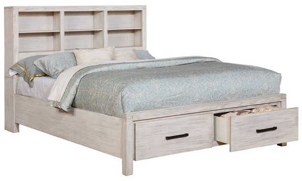 Furniture of America Strasburg White Queen Bed FOA-CM7384WH-Q-BED