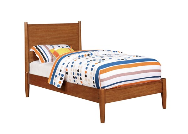 Furniture of America Lennart Oak Full Bed FOA-CM7386A-F-BED