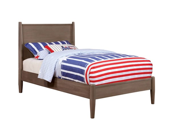 Furniture of America Lennart Gray Full Bed FOA-CM7386GY-F-BED