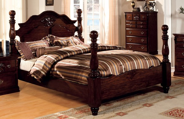 Furniture of America Tuscan II Cal King Bed FOA-CM7571CK-BED